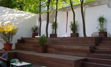 Garten Tribüne